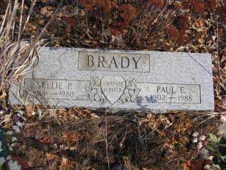 BRADY, NELLIE P. - Union County, Ohio   NELLIE P. BRADY - Ohio Gravestone Photos