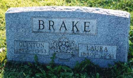 BRAKE, LAURA - Union County, Ohio | LAURA BRAKE - Ohio Gravestone Photos