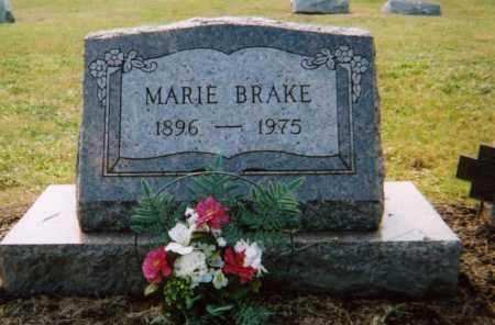 BRAKE, JENNIE MARIE - Union County, Ohio   JENNIE MARIE BRAKE - Ohio Gravestone Photos