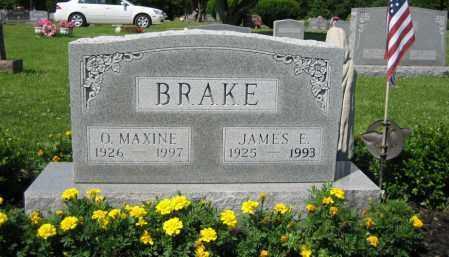 BRAKE, JAMES E. - Union County, Ohio | JAMES E. BRAKE - Ohio Gravestone Photos