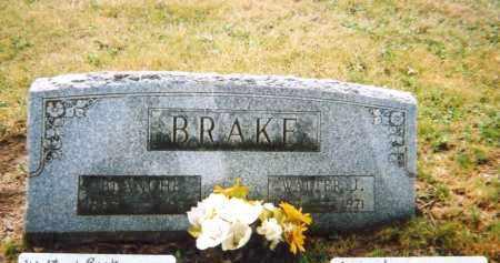 BRAKE, WALTER JAMES - Union County, Ohio | WALTER JAMES BRAKE - Ohio Gravestone Photos