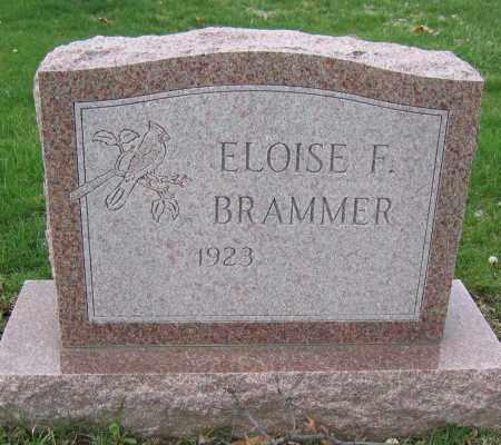 BRAMMER, ELOISE F. - Union County, Ohio | ELOISE F. BRAMMER - Ohio Gravestone Photos