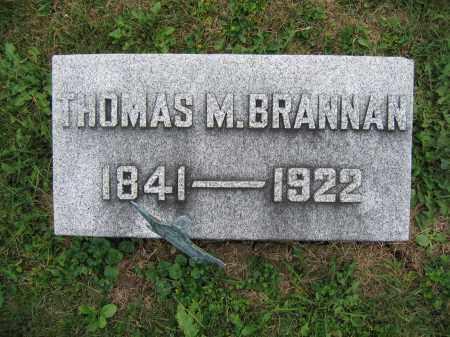 BRANNAN, THOMAS M. - Union County, Ohio | THOMAS M. BRANNAN - Ohio Gravestone Photos