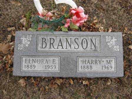 BRANSON, ELNORA E. - Union County, Ohio | ELNORA E. BRANSON - Ohio Gravestone Photos