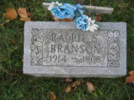 BRANSON, RALPH S. - Union County, Ohio   RALPH S. BRANSON - Ohio Gravestone Photos