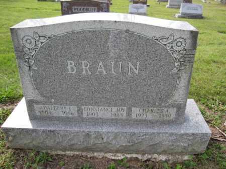 BRAUN, ADALBERT F. - Union County, Ohio | ADALBERT F. BRAUN - Ohio Gravestone Photos