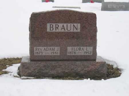 BRAUN, FLORA L. - Union County, Ohio | FLORA L. BRAUN - Ohio Gravestone Photos