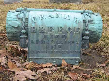 BREECE, FRANK W. - Union County, Ohio | FRANK W. BREECE - Ohio Gravestone Photos