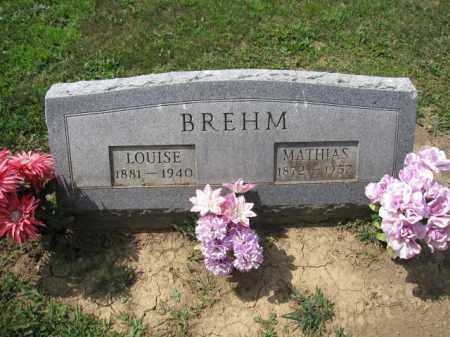 BREHM, MATHIAS - Union County, Ohio | MATHIAS BREHM - Ohio Gravestone Photos