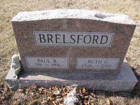 BRELSFORD, PAUL R. - Union County, Ohio   PAUL R. BRELSFORD - Ohio Gravestone Photos