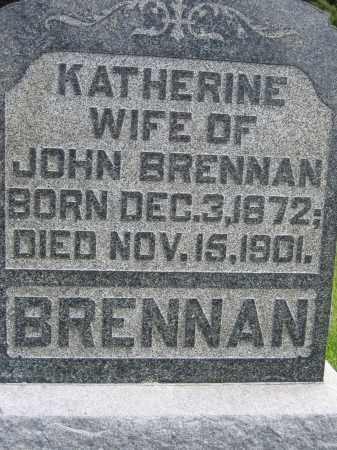 BRENNAN, KATHERINE - Union County, Ohio | KATHERINE BRENNAN - Ohio Gravestone Photos