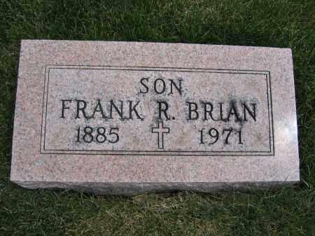 BRIAN, FRANK R - Union County, Ohio | FRANK R BRIAN - Ohio Gravestone Photos
