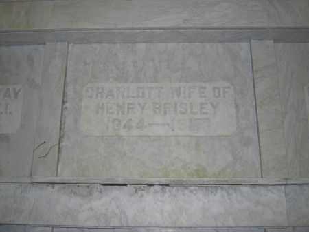 BRISLEY, CHARLOTT - Union County, Ohio | CHARLOTT BRISLEY - Ohio Gravestone Photos