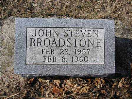 BROADSTONE, JOHN STEVEN - Union County, Ohio | JOHN STEVEN BROADSTONE - Ohio Gravestone Photos