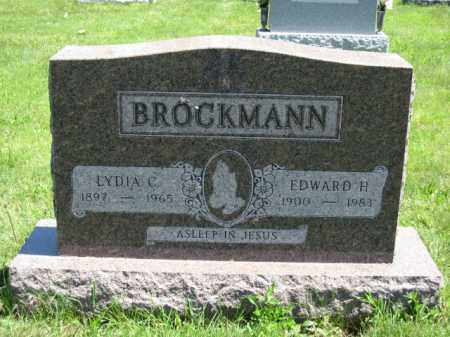 BROCKMANN, EDWARD H. - Union County, Ohio   EDWARD H. BROCKMANN - Ohio Gravestone Photos