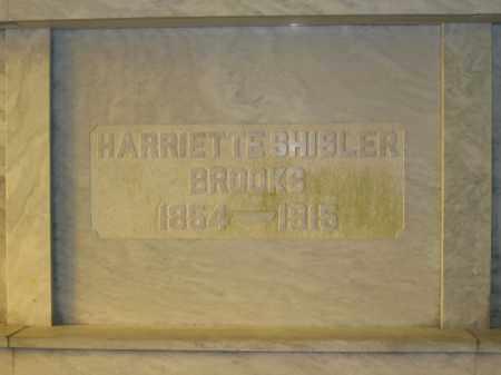 BROOKS, HARRIETTE SHISLER - Union County, Ohio | HARRIETTE SHISLER BROOKS - Ohio Gravestone Photos