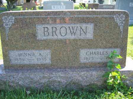 BROWN, CHARLES H. - Union County, Ohio   CHARLES H. BROWN - Ohio Gravestone Photos