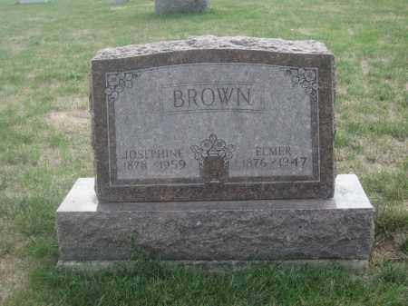 BROWN, JOSEPHINE - Union County, Ohio | JOSEPHINE BROWN - Ohio Gravestone Photos