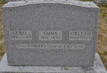 BROWN, EMMA - Union County, Ohio | EMMA BROWN - Ohio Gravestone Photos
