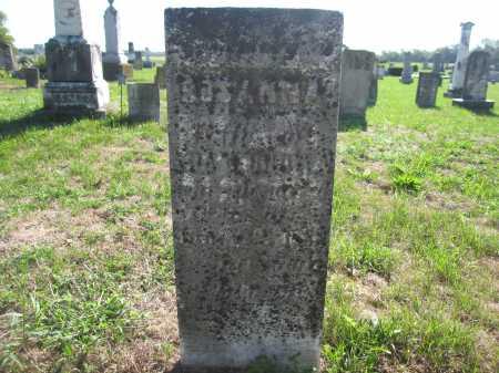 BROWN, ROSANNA - Union County, Ohio | ROSANNA BROWN - Ohio Gravestone Photos