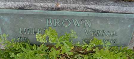 BROWN, HELEN - Union County, Ohio | HELEN BROWN - Ohio Gravestone Photos