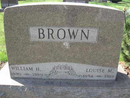 BROWN, LOUISE M. - Union County, Ohio | LOUISE M. BROWN - Ohio Gravestone Photos