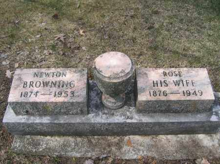BROWNING, ROSE - Union County, Ohio | ROSE BROWNING - Ohio Gravestone Photos