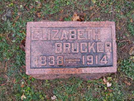 BRUCKER, ELIZABETH - Union County, Ohio | ELIZABETH BRUCKER - Ohio Gravestone Photos