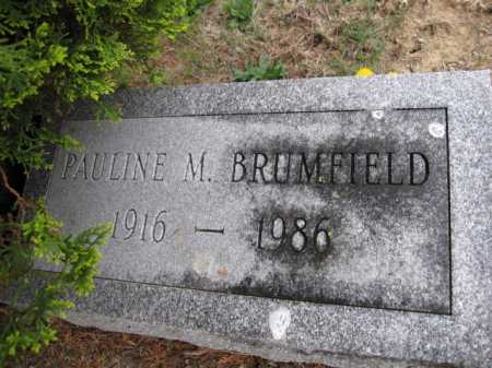 BRUMFIELD, PAULINE M. - Union County, Ohio | PAULINE M. BRUMFIELD - Ohio Gravestone Photos
