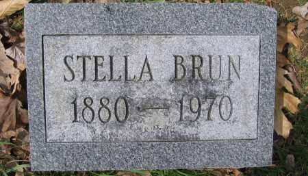 BRUN, STELLA - Union County, Ohio   STELLA BRUN - Ohio Gravestone Photos