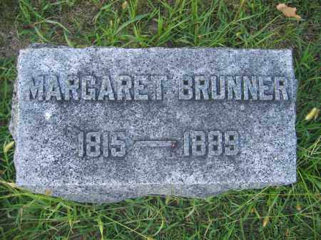 BRUNNER, MARGARET - Union County, Ohio | MARGARET BRUNNER - Ohio Gravestone Photos