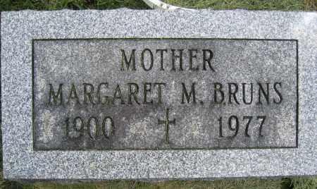 BRUNS, MARGARET M. - Union County, Ohio | MARGARET M. BRUNS - Ohio Gravestone Photos