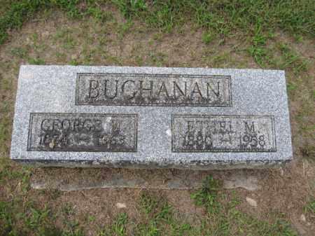 BUCHANAN, ETHEL M. - Union County, Ohio | ETHEL M. BUCHANAN - Ohio Gravestone Photos