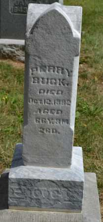 BUCK, PERRY - Union County, Ohio | PERRY BUCK - Ohio Gravestone Photos