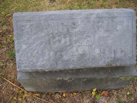 BULEN, FRANCES RUTH - Union County, Ohio | FRANCES RUTH BULEN - Ohio Gravestone Photos