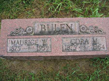 BULEN, MAURICE W. - Union County, Ohio | MAURICE W. BULEN - Ohio Gravestone Photos
