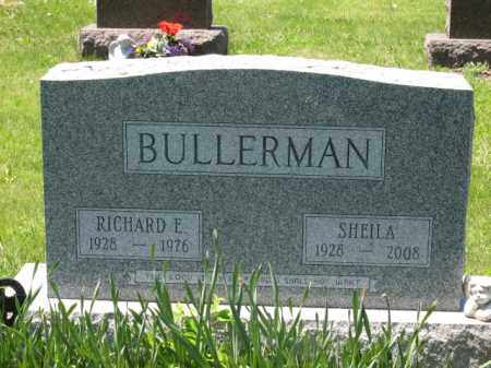 BULLERMAN, SHEILA - Union County, Ohio | SHEILA BULLERMAN - Ohio Gravestone Photos