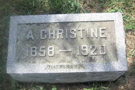 BUNSOLD, A. CHRISTINE - Union County, Ohio | A. CHRISTINE BUNSOLD - Ohio Gravestone Photos