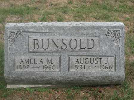 BUNSOLD, AUGUST J. - Union County, Ohio | AUGUST J. BUNSOLD - Ohio Gravestone Photos