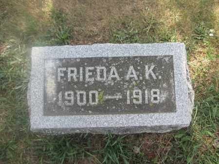 BUNSOLD, FRIEDA A.K. - Union County, Ohio   FRIEDA A.K. BUNSOLD - Ohio Gravestone Photos