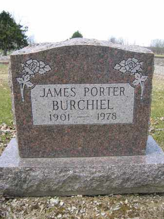 BURCHIEL, JAMES PORTER - Union County, Ohio | JAMES PORTER BURCHIEL - Ohio Gravestone Photos