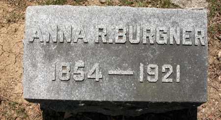 BURGNER, ANNA - Union County, Ohio | ANNA BURGNER - Ohio Gravestone Photos