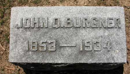 BURGNER, JOHN Q. - Union County, Ohio | JOHN Q. BURGNER - Ohio Gravestone Photos