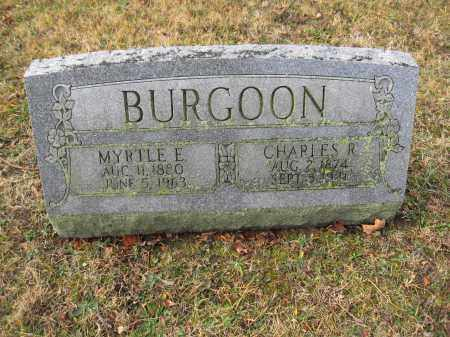 BURGOON, MYRTLE E. - Union County, Ohio | MYRTLE E. BURGOON - Ohio Gravestone Photos