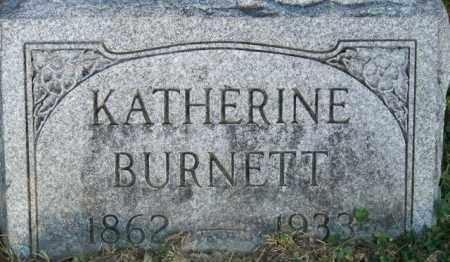 BURNETT, KATHERINE - Union County, Ohio | KATHERINE BURNETT - Ohio Gravestone Photos