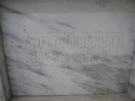 BURNHAM, DEWITT C. - Union County, Ohio   DEWITT C. BURNHAM - Ohio Gravestone Photos