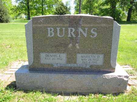 BURNS, DENNIS E. - Union County, Ohio | DENNIS E. BURNS - Ohio Gravestone Photos