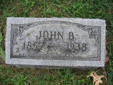 BURNS, JOHN B. - Union County, Ohio | JOHN B. BURNS - Ohio Gravestone Photos