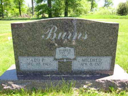 BURNS, LEO P. - Union County, Ohio | LEO P. BURNS - Ohio Gravestone Photos