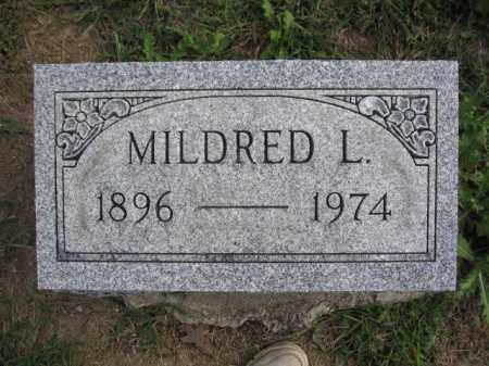BURNS, MILDRED L. - Union County, Ohio   MILDRED L. BURNS - Ohio Gravestone Photos